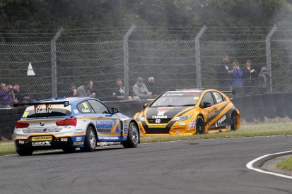 Matt Neal reprimanded for Rob Collard Croft BTCC qualifying clash