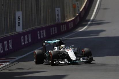 Lewis Hamilton grabs Baku F1 practice top spot from Nico Rosberg