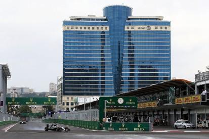 Hamilton on top in Baku F1 practice, trouble for Rosberg, Ferrari
