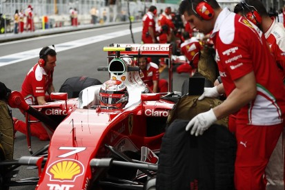 Ferrari F1 team can't get tyres working in Baku says Kimi Raikkonen