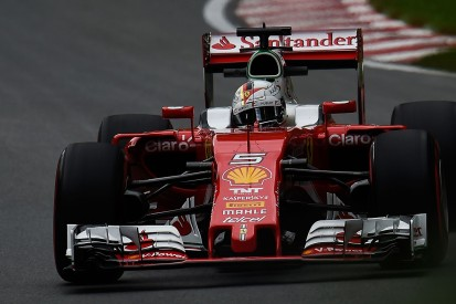 Canadian Grand Prix: Vettel tops red flagged final F1 practice