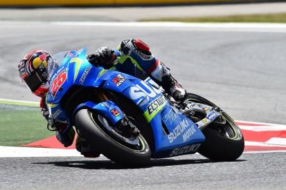 Suzuki MotoGP rider Vinales hopes new frame ends grip 'nightmare'