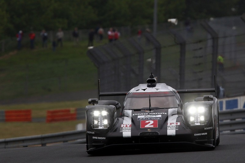 Porsche's Neel Jani leads first session of Le Mans 24 Hours test