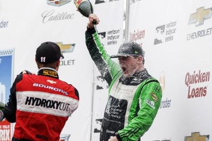 Daly hails 'wizard' Coyne for outfoxing Penske in Detroit IndyCar