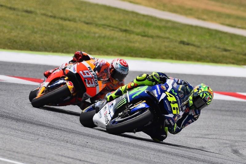 Rossi declares Marquez feud over after Barcelona MotoGP weekend