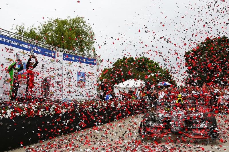 Detroit IndyCar: Sebastien Bourdais wins ahead of Conor Daly