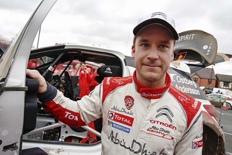 Mads Ostberg keeps Citroen World Rally Championship drive for 2015