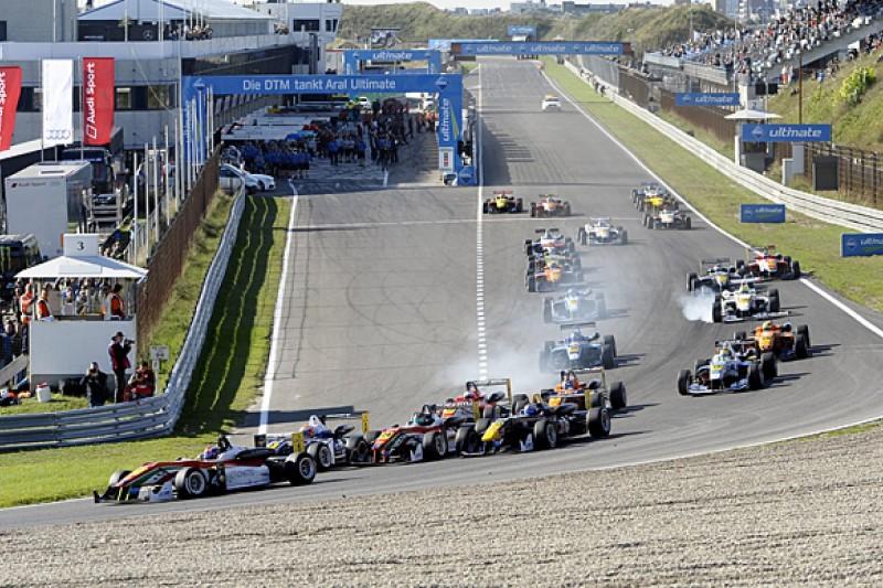 Zandvoort and Monza return to European Formula 3 calendar for 2015