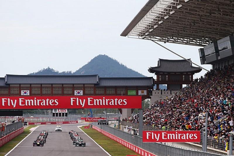 Korean Grand Prix returns on new 21-race 2015 Formula 1 calendar