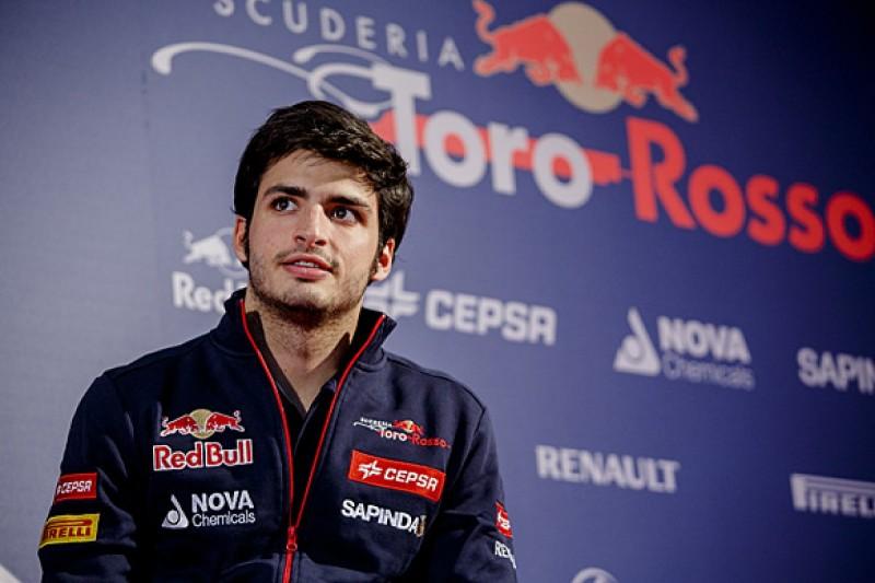 Carlos Sainz Jr not unnerved by Max Verstappen's Toro Rosso F1 deal
