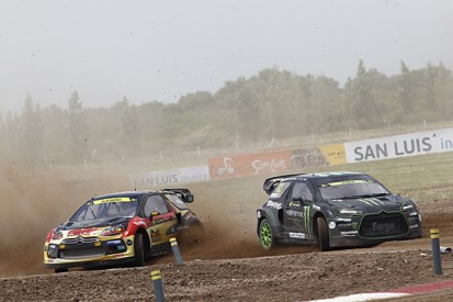 San Luis World Rallycross: Petter Solberg leads after day one