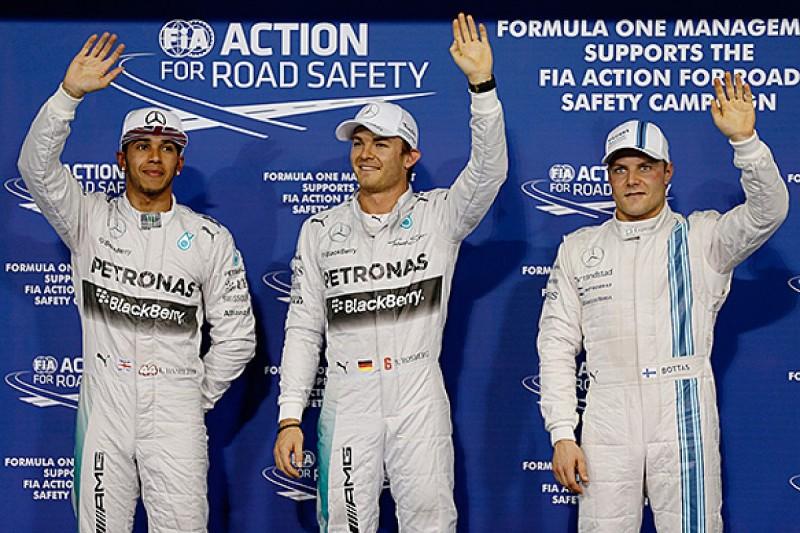 Abu Dhabi GP: Rosberg beats Hamilton to pole ahead of finale