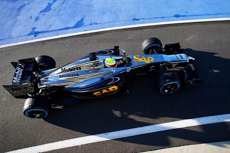 Interim McLaren-Honda F1 car breaks cover at Silverstone