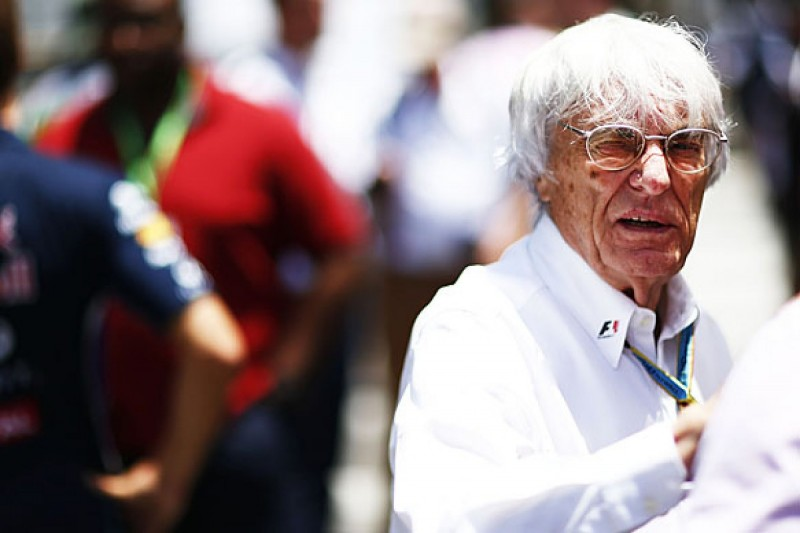 Bernie Ecclestone: Formula 1 doesn't need young fans