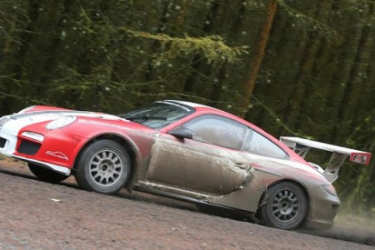 Richard Tuthill's Porsche 911 refused Rally GB entry by the FIA