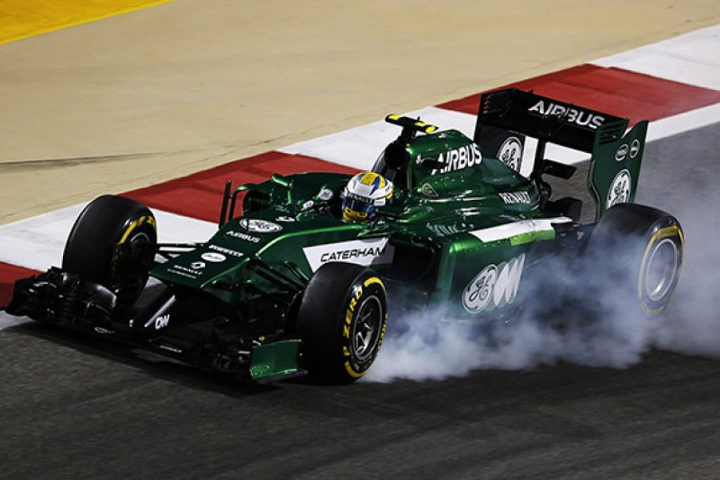 Marcus Ericsson severs all ties with Caterham F1 squad