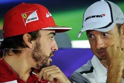 Fernando Alonso hopes Jenson Button stays in Formula 1 in 2015