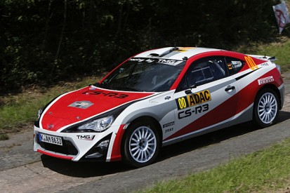 Young drivers get Toyota World Rally Car tests