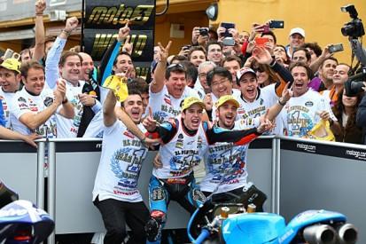 Alex Marquez beats Jack Miller to 2014 Moto3 title at Valencia