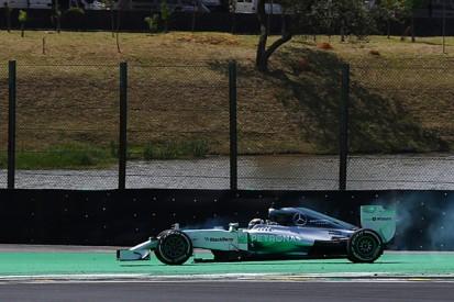 Brazilian GP: Lewis Hamilton sure mid-race spin cost him the win