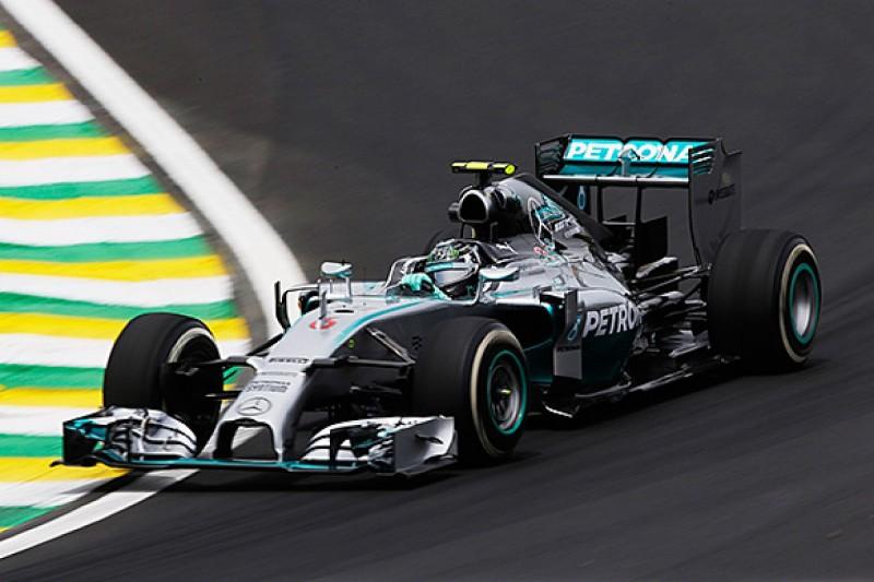 Brazilian GP: Nico Rosberg stays on top in second practice