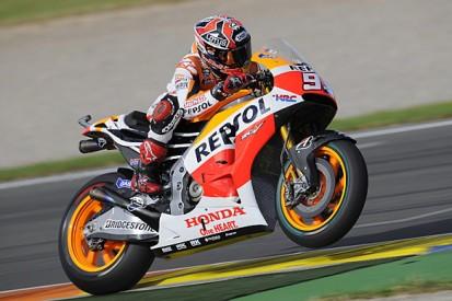 Valencia MotoGP: Marc Marquez pips Jorge Lorenzo in first practice