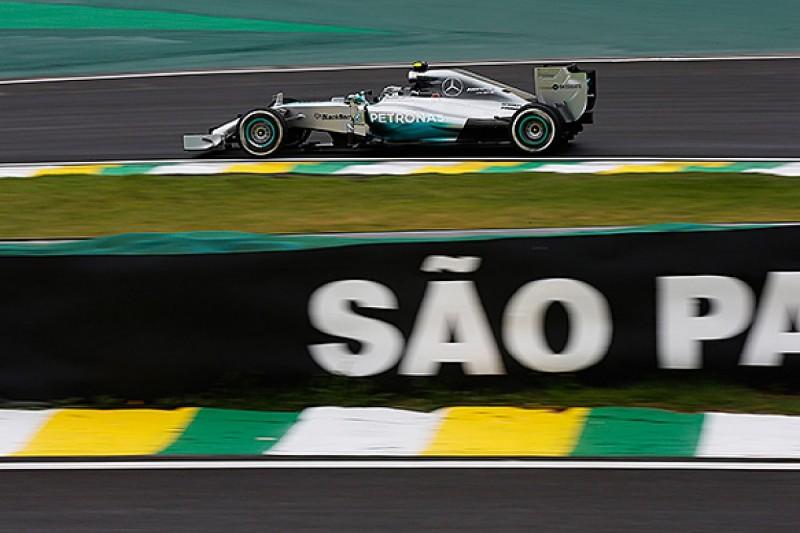 Brazilian GP: Nico Rosberg quickest in opening practice