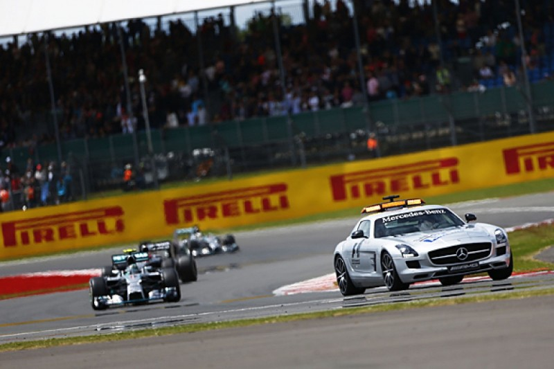 Formula 1 considers safety car unlapping rule changes for 2015