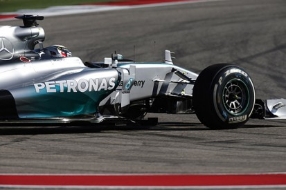 US GP: Lewis Hamilton troubled by brakes as Nico Rosberg takes pole