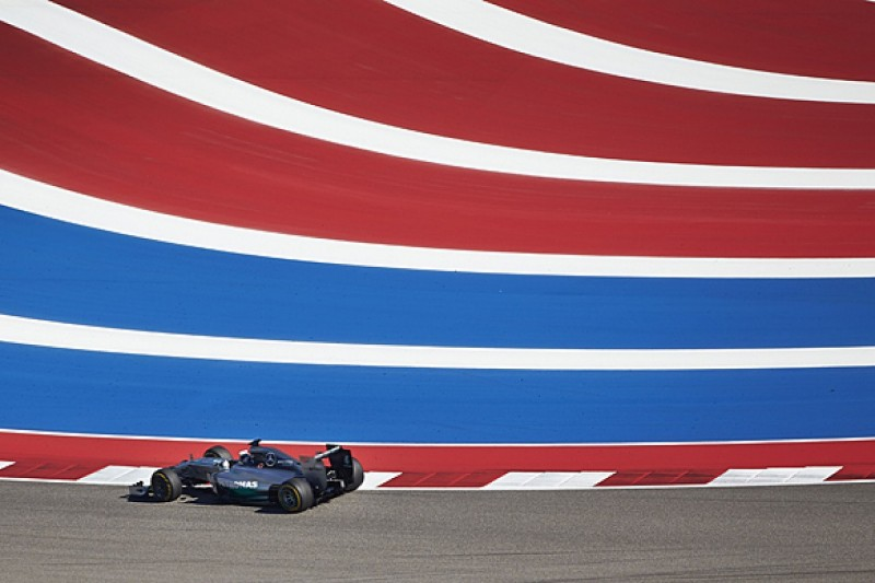 US GP: Lewis Hamilton fastest in practice, Nico Rosberg troubled