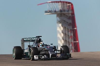 US GP: Lewis Hamilton pips F1 title rival Nico Rosberg in practice