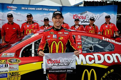 Martinsville NASCAR: Jamie McMurray beats Chase drivers to pole