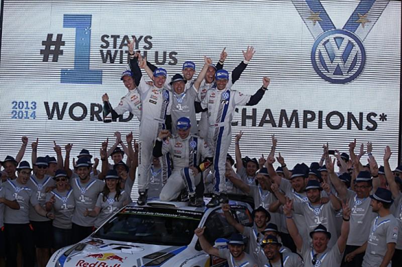 VW keeps Ogier, Latvala, Mikkelsen in 2015 World Rally Championship