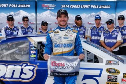 Talladega NASCAR: Brian Vickers tops bizarre qualifying