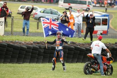 Jack Miller trims Alex Marquez's Moto3 lead with Phillip Island win