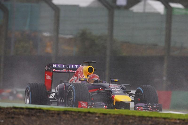 Sebastian Vettel leads F1 drivers' push for better wet tyres