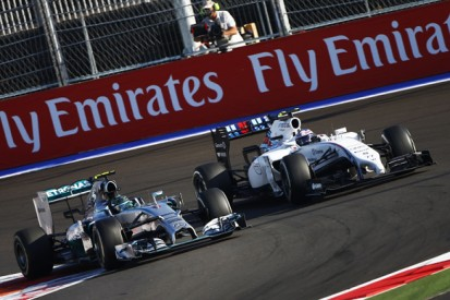 Russian GP: Williams stunned by Mercedes' tyre life