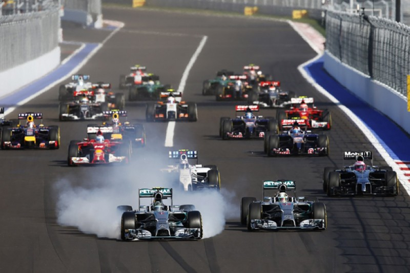 Russian GP: Nico Rosberg rues 'very unnecessary' lap one mistake