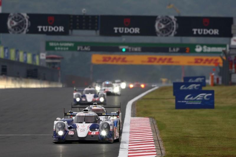 Fuji WEC: Anthony Davidson/Sebastien Buemi win as Toyota dominates