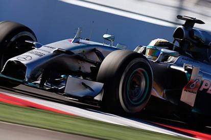 Russian GP: Lewis Hamilton still in control in final practice