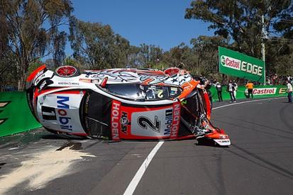 Bathurst 1000: HRT withdraws Tander, Luff car after crash