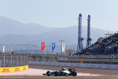 Russian GP: Nico Rosberg tops Sochi's first F1 session for Mercedes