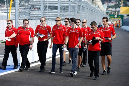 Marussia F1 team yet to decide if it races with two cars in Russia