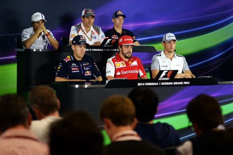 Russian GP: Thursday press conference