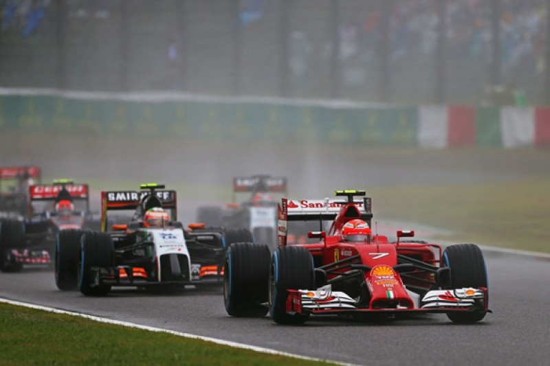 Kimi Raikkonen says set-up problems are back on his Ferrari F1 car