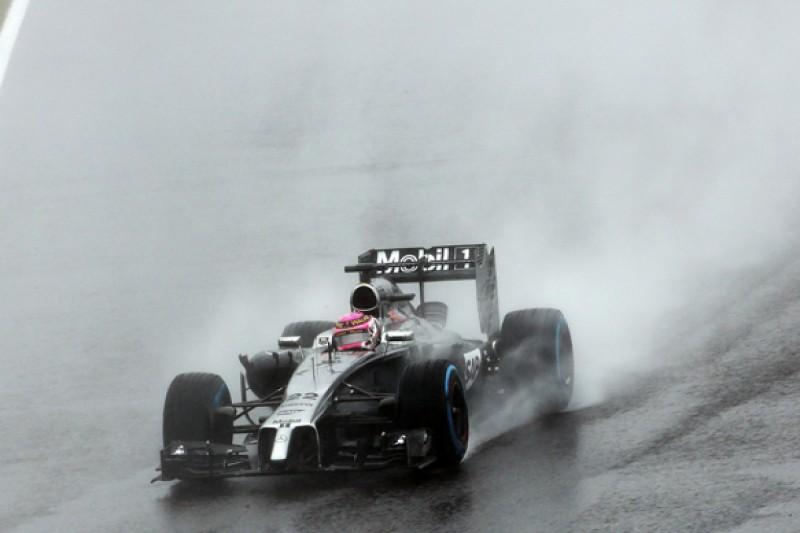 Williams F1 team: McLaren's superior wet Japanese GP pace a concern