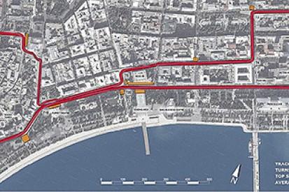Baku street track for 2016 F1 European Grand Prix unveiled