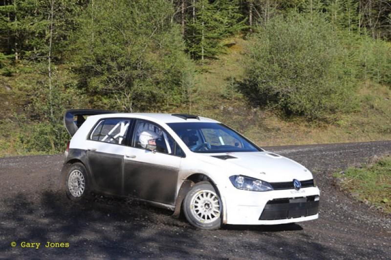 Prodrive tests new VW Golf rally car built 'to WRC spirit'