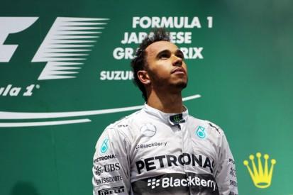 Japanese GP: Lewis Hamilton defeats Nico Rosberg in shortened race