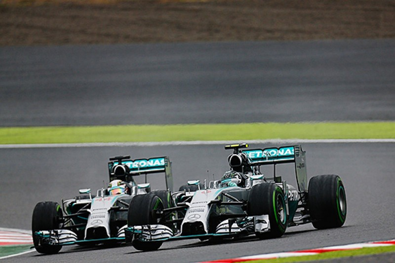 Japanese GP: Rosberg concedes Hamilton was quicker in the race